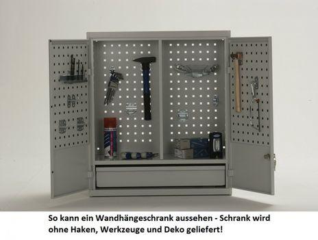 Werkzeugschrank mit Flügeltüren - wandhängend – Bild 3