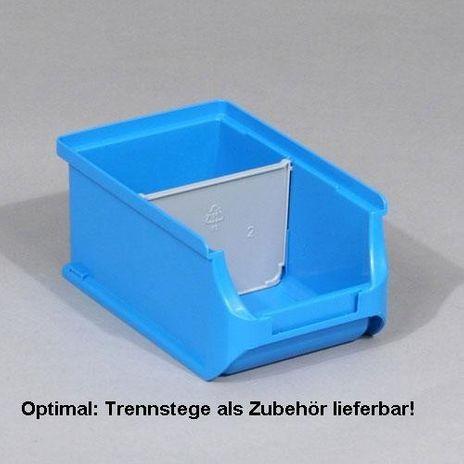 Trennsteg, ProfiPlus Box 2/2L Divider, grau, PP, 4 Stck/Pack