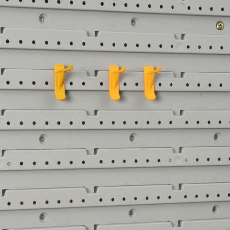 Haken-Set, StorePlus System >P< 30+40, gelb – Bild 1