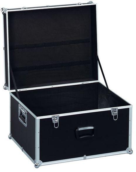 Geraetekiste III, seitl. Griffe, AluPlus ToolBox 24, schwarz, Werkzeughalter/Rueckhaltegurte