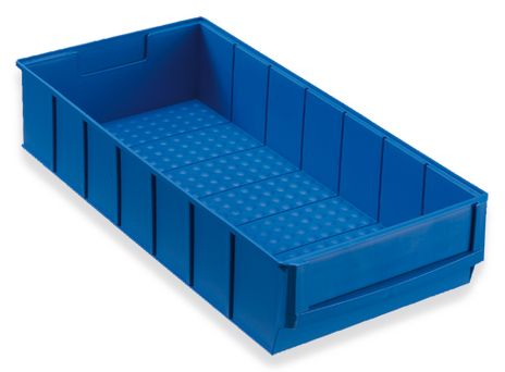 Regalbox Grip 400B, Industriebox, blau – Bild 1