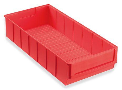 Regalbox Grip 400B, Industriebox rot, 8 Stück – Bild 1