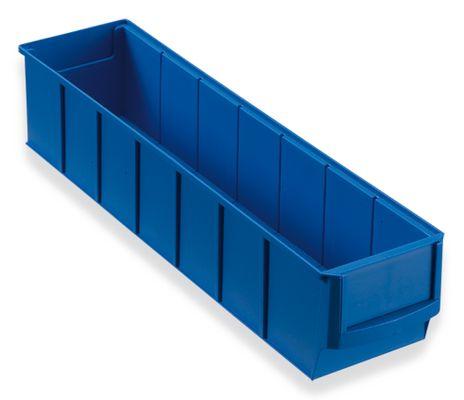 Regalbox Grip 400S, blau, 16 Stück – Bild 1