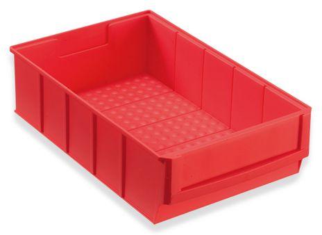 Regalbox Grip 300B, Industriebox, rot, 8 Stück – Bild 1