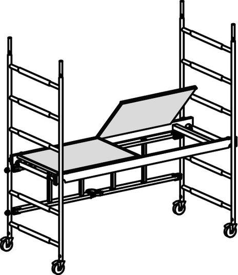 Modulgerüst ALUPRO Modul 1 – Bild 2