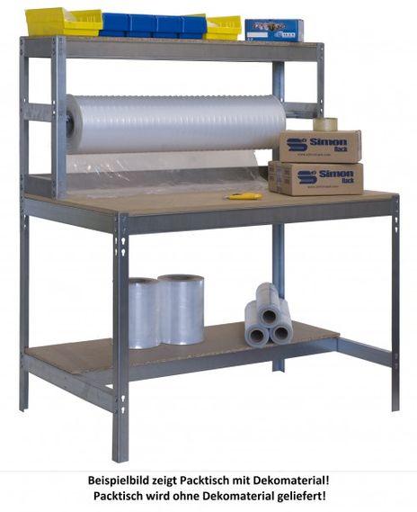 Werkbank - Packtisch, 1200 mm