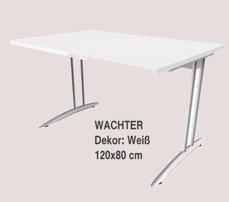 Barcelona Schreibtisch B/T: 1200x800 mm, Höhe 720 mm – Bild 6