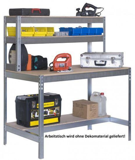 Arbeitstisch mit 4 Ebenen 1500 mm breit