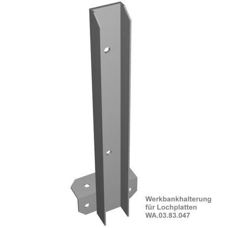 Werkbankhalterung für Lochplatten – Bild 1