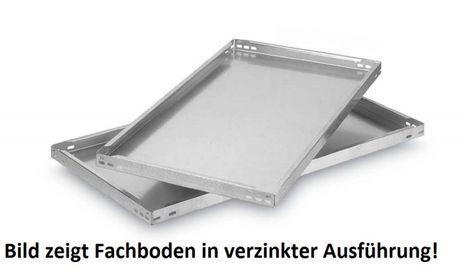 Fachboden für Steckregal, B/T/H: 750/300/40 mm, Lichtgrau – Bild 1