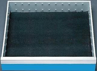 Schubladeneinlage Riffelgummi-Einlage