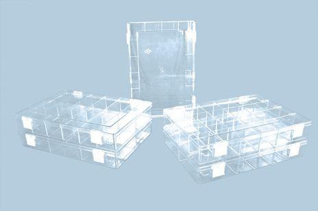 Deckel für Sortimentskasten aus glasklarem Polystyrol – Bild 1
