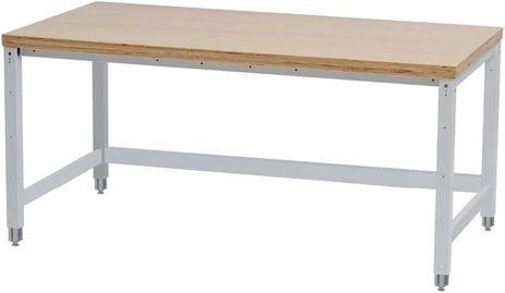 Workergo Grundtisch mit Kurbelverstellung – Bild 1
