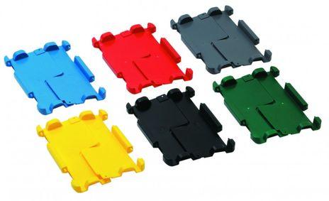 Klappdeckel für Schwerlast-Transport-Stapelkasten VTK/D 300 K, 4 Stück, Farbe: Blau