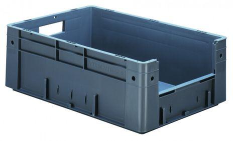 Sichtlagerkasten im Euro-Maß, Serie VTK 600/210-4, 2 Stück – Bild 1