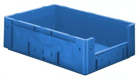 Kunststoff-Sichtlagerkasten im Euro-Maß, Serie VTK 600/175-4, 2 Stück – Bild 1