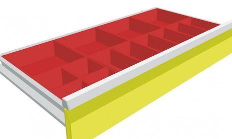 Maxmobile 1 Schubladeneinsatz Kleinteilekästen für BLH 50 mm