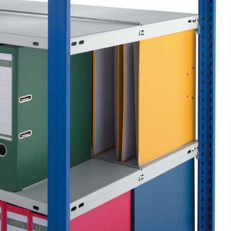 Fachboden für Aktenregal, 1000 x 600 mm für Beidseitige Nutzung – Bild 2