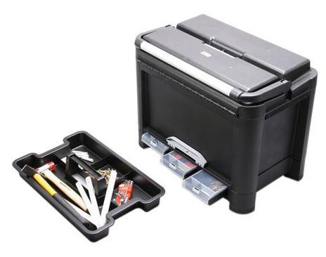 Werkzeugkoffer McPlus Alu D 26, schwarz, PP