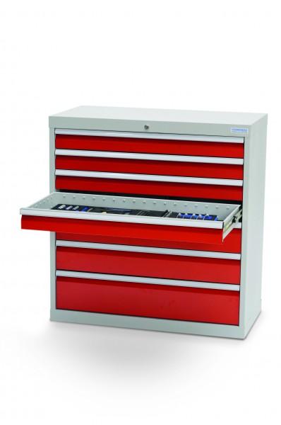 Schubladenschrank 7 Schubladen, B =980xT=500xH=1019 mm – Bild 2