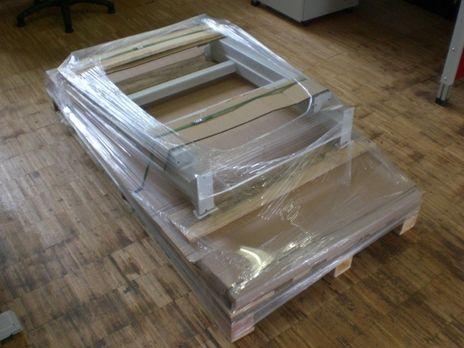 Pack- und Arbeitstisch 1000 -2000, höhenverstellbar – Bild 4