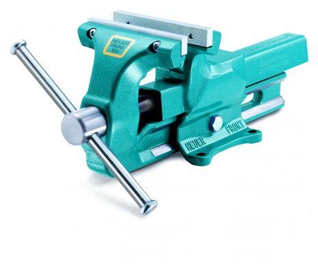 Schraubstock, Typ: mit auswechselbaren Backen, Gewicht 16 kg, Backenbreite 140 mm, Spannweite 200 mm, Spanntiefe 80 mm