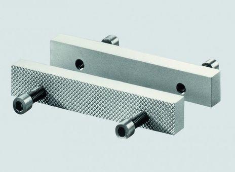 Schraubstock - Wechselbacke, Breite 150,5 mm, Lochabstand 105 mm, Höhe 25 mm, Stärke 12 mm