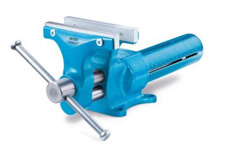 Schraubstock, Typ: Compact, Backenbreite 120 mm, Spannweite 130 mm, Spanntiefe 65 mm – Bild 1