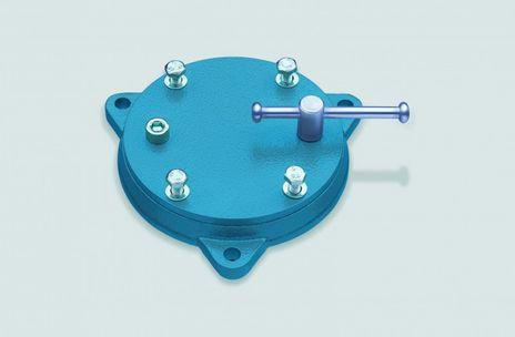 HEUER Drehteller, Backenbreite 160/180 mm, Gewicht ca. 7,5 kg
