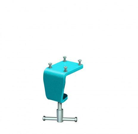 HEUER Tischklammer, Backenbreite 100 mm, Gewicht ca. 1,0 kg, Tischstärke 10-60 mm