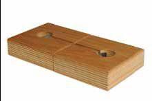 Verbindung Platte zu Platte für Werkbank mit Lamello und 2 Spannklammern – Bild 1