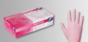 100 Stk. Unigloves Pink Pearl Nitril-Handschuhe PINK Gr.L