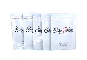 EASYTATTOO - 5x 4ml Tattoo Cream Sachets - Tattoopflege Aftercare
