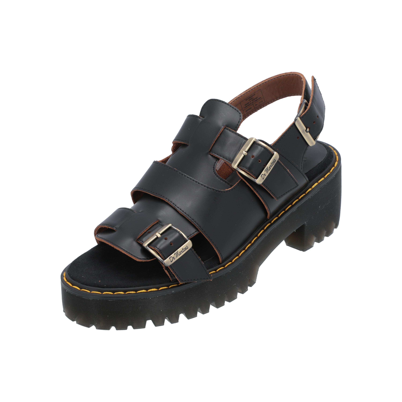 Details zu Dr. Martens Ariel Damen Sandalen Schwarz Flip Flops Sommer Schuhe