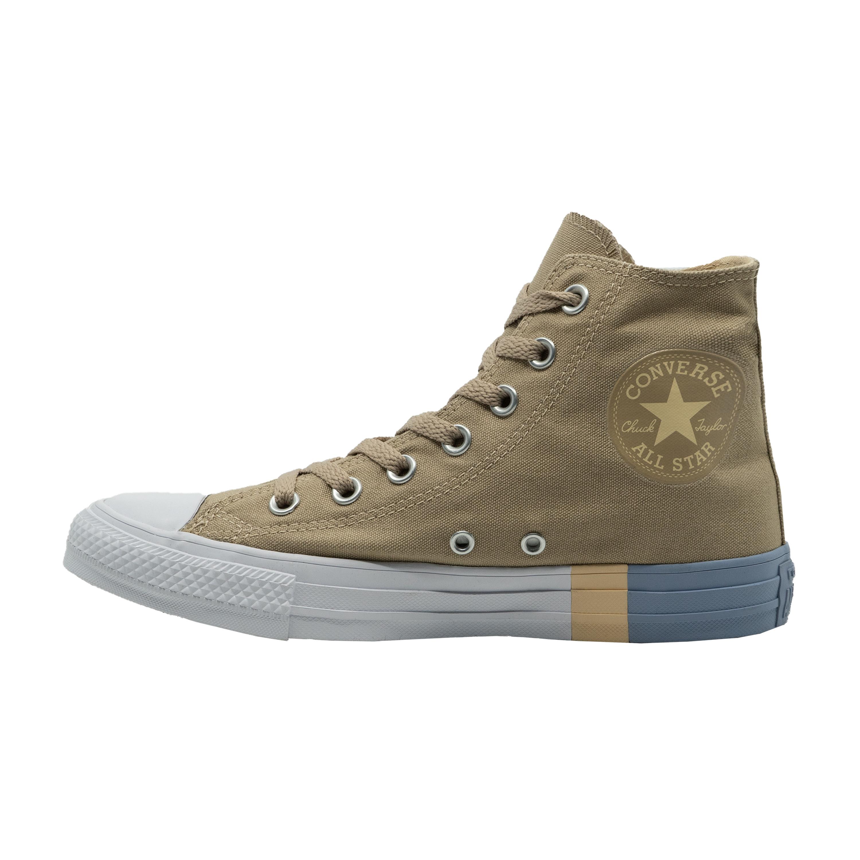 Detalles de Converse Chuck Taylor All Star Hi sneakers zapatos Chucks beige marrón nuevo 159548c ver título original