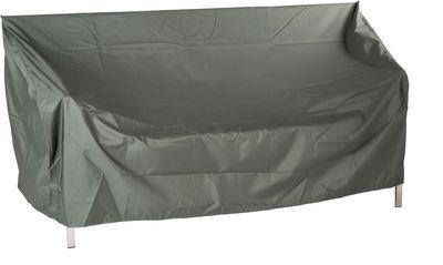 Schutzhülle für Bank 3-Sitzer - aus Polyester - grau