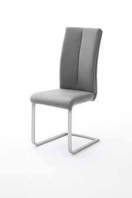 "Schwingstuhlset ""Pia II"" - in schwarz, cappuccino, braun, grau, weiß, bordeaux, curry, olive, petrol – Bild 6"