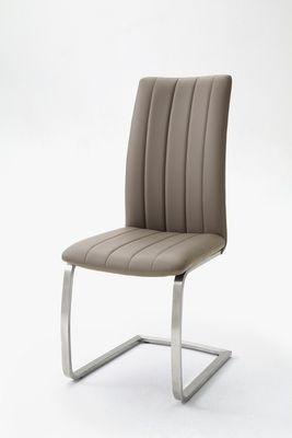 "Schwingstuhlset ""Vivi"" - 2er Set - Stuhlset - cappuccino, braun, grau, schwarz – Bild 4"