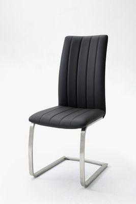 "Schwingstuhlset ""Vivi"" - 2er Set - Stuhlset - cappuccino, braun, grau, schwarz – Bild 5"