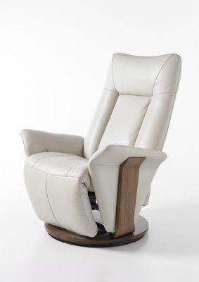 """Relax Sessel """"Marcin"""" - mit Fußstütze - in schwarz oder creme – Bild 3"""