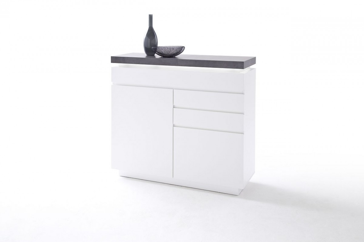 Dreams4home Kommode Sharun Schrank Kommode Konsole Sideboard