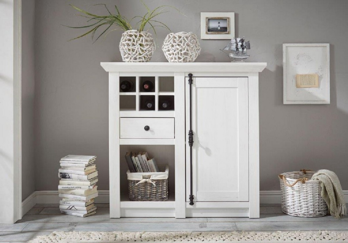 Dreams4home Kommode Tinnum Schrank Konsole Sideboard Kommode