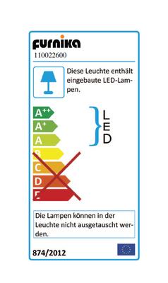 """Badkombination """"Emerik B"""", in Eiche Reviera honig Nachbildung Abs. Beton dunkel inkl. Waschbecken – Bild 3"""