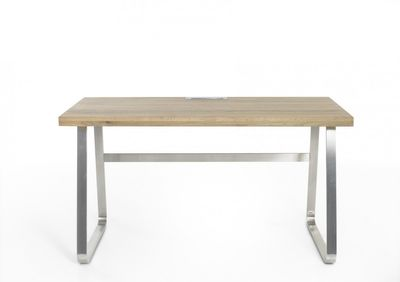 """Schreibtisch """"Hulo I"""" - in Asteiche – Bild 2"""