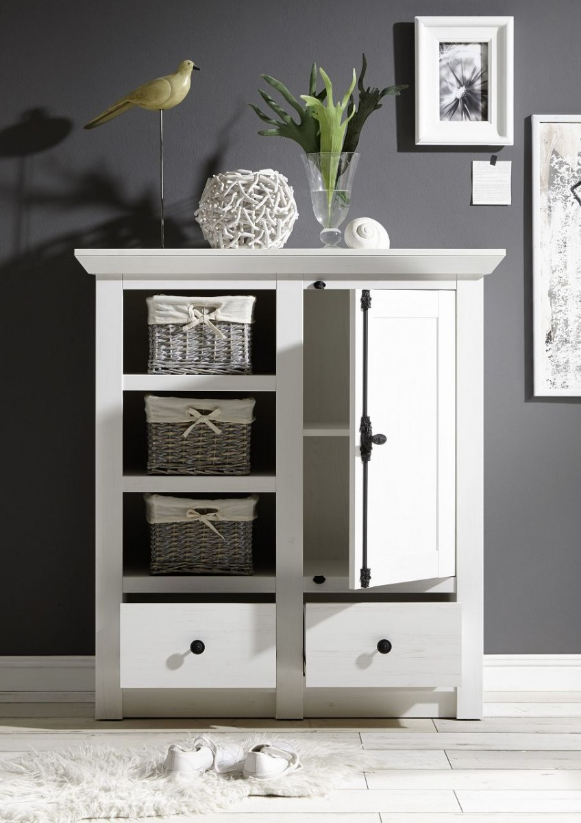 Dreams4home Kommode Steffen Schrank Konsole Sideboard