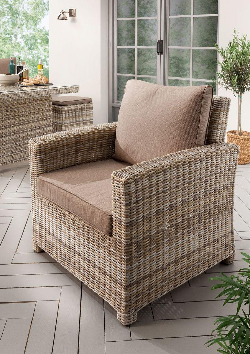 Dreams4home Lounge Sessel Cudi Sessel Garten Sessel 80 X 80 X