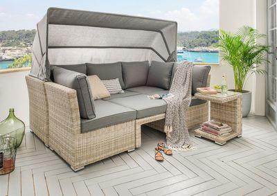 "Lounge Set ""Rubija"" - in beige braun / grau – Bild 2"