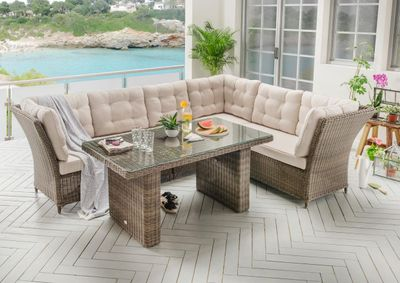 "Dining Lounge Set ""Lexura"" - in 3 Farbvarianten verfügbar – Bild 3"