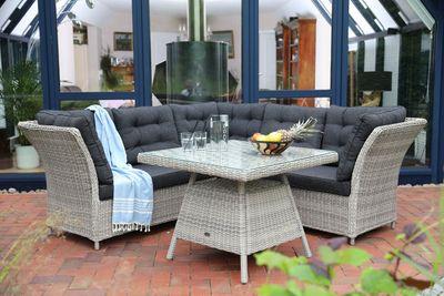 "Dining Lounge Set ""Lampa"" - in 3 Farbvarianten verfügbar – Bild 3"