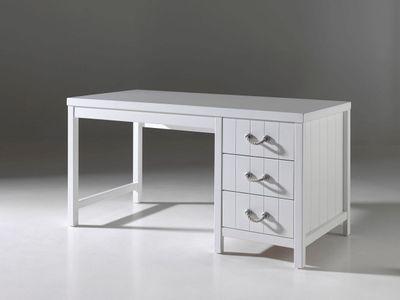 """Jugendzimmer-Set """"Casch XI"""" - in Weiß - geplankte Optik – Bild 6"""